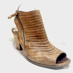 Paul Green Cayanne Brown Heels Sandals